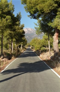 Sierra Espuña at the end of the Roman road