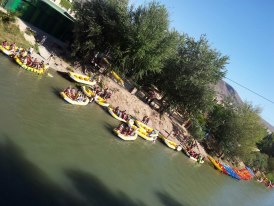 River Raffting / Kayaking on the Rio Segura