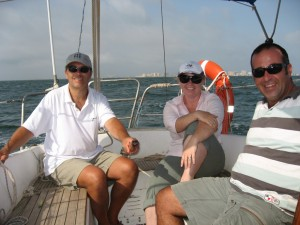 Sailing on the Mar Menor