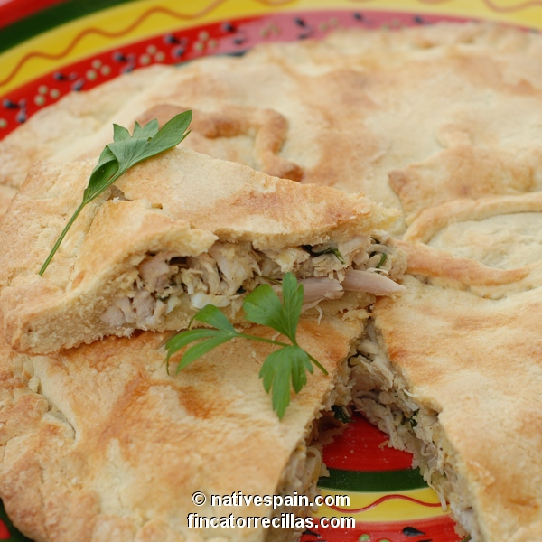 Chicken Pie – Hojaldre De Pastel De Pollo – Spanish Recipe