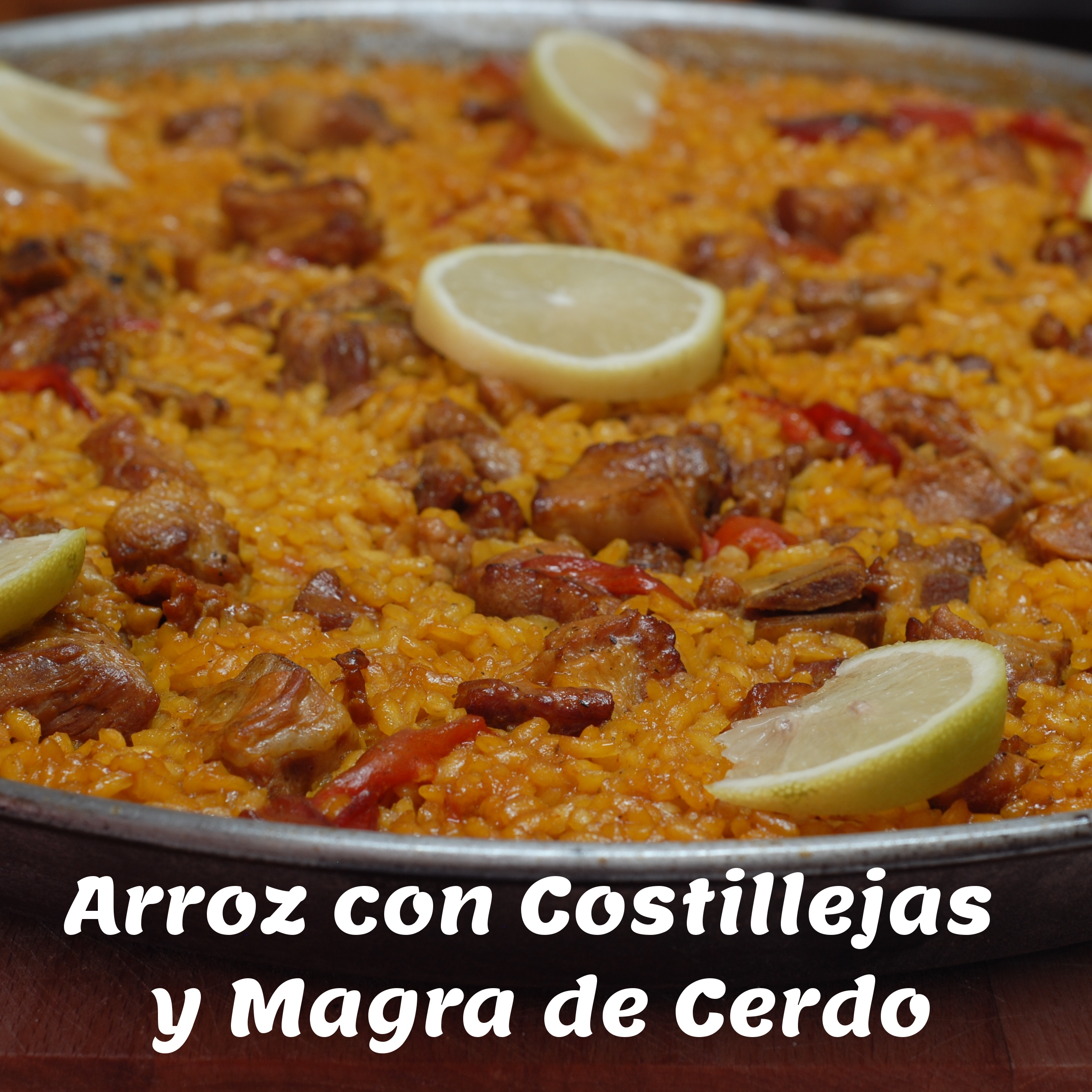 Arroz con Costillejas y Magra de Cerdo – Rice with Spareribs & Pork – Spanish Recipe