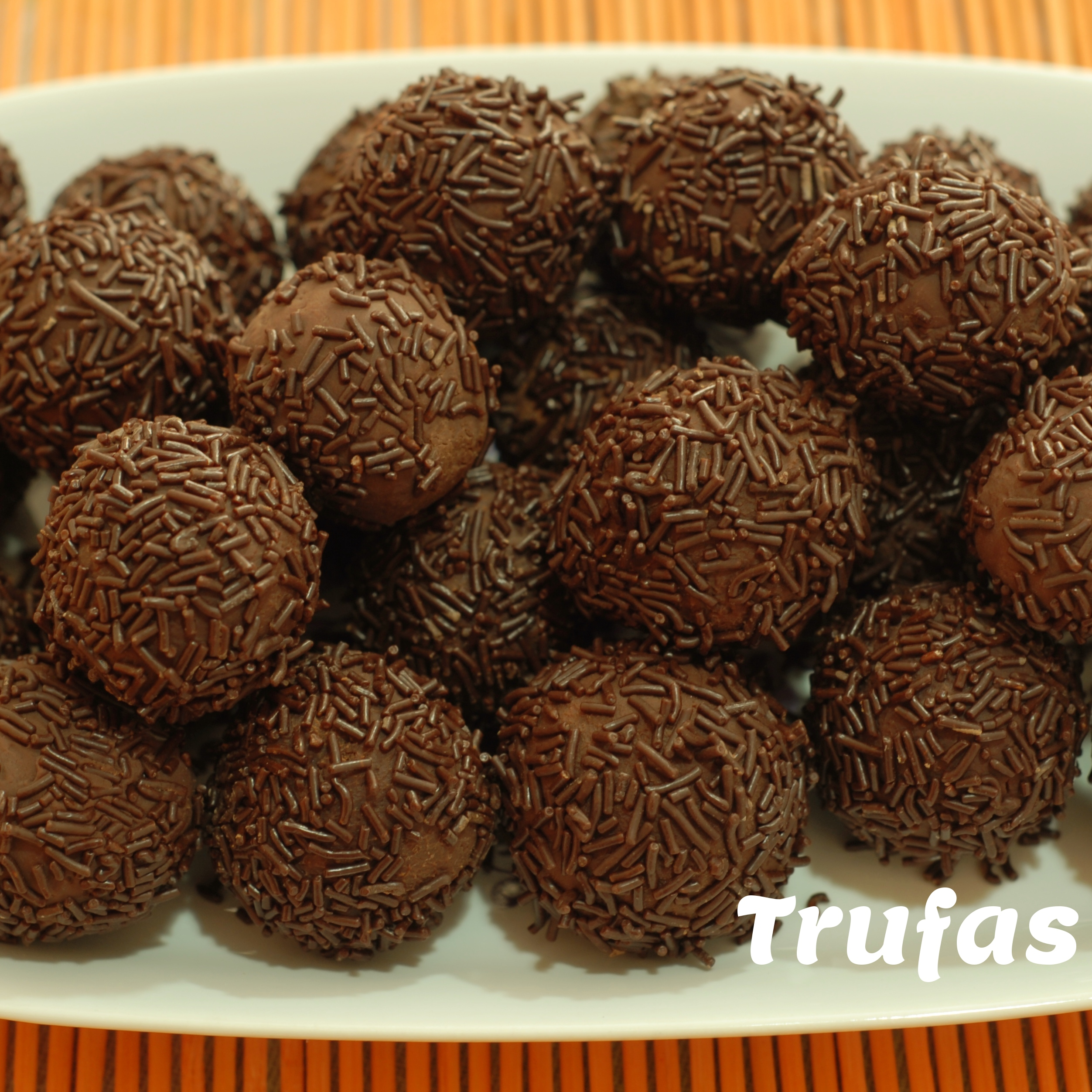 Truffles – Trufas – Spanish Recipe in Spanish & English