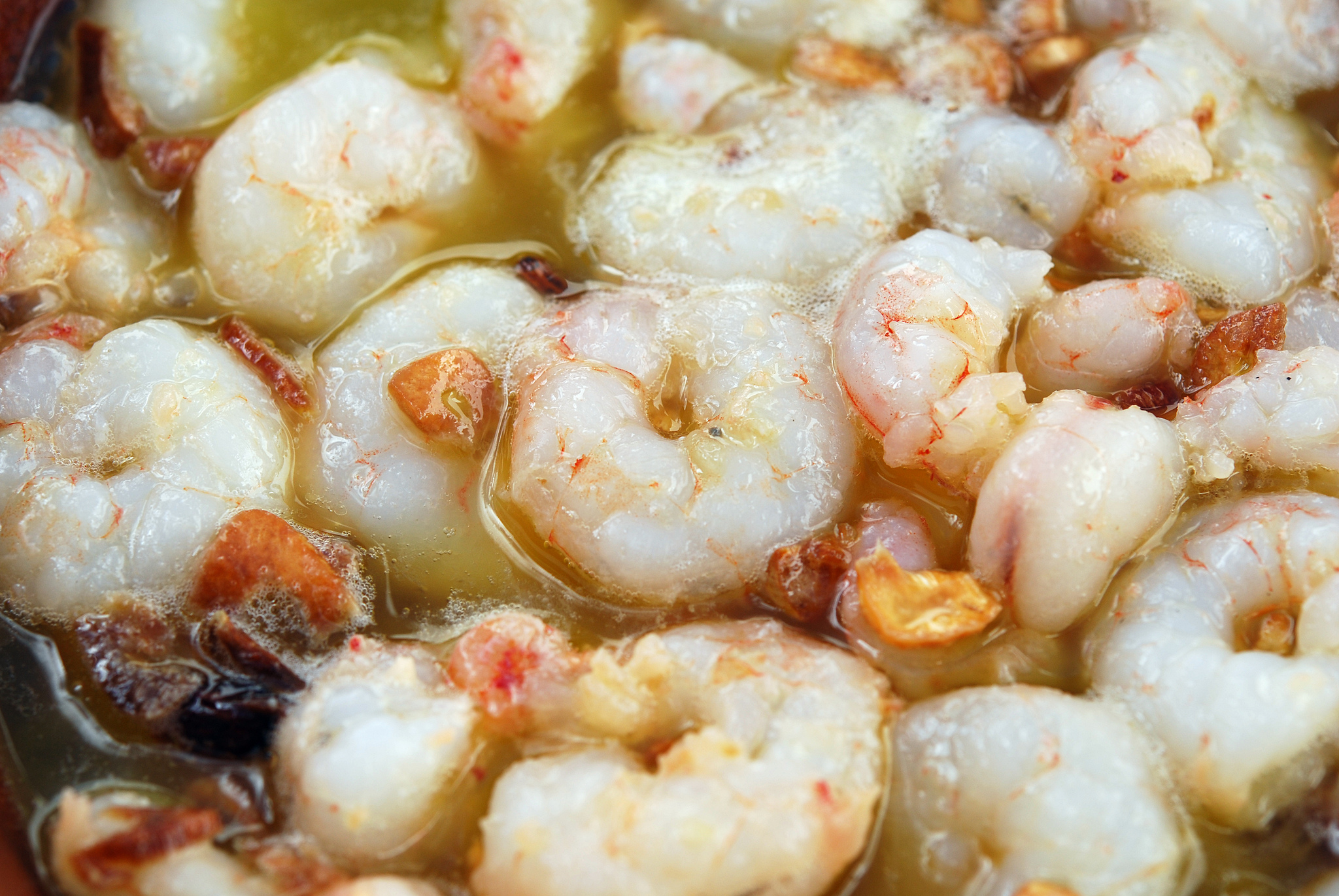 Gambas al Ajillo – Prawns in Garlic – Recipe in Spanish & English